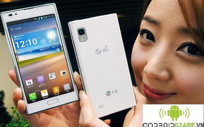 LG F160 - hỗ trợ camera 8.0 MP