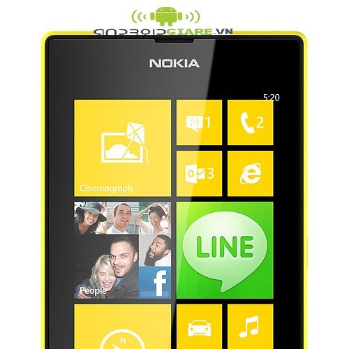 Smartphone Nokia Lumia 520 - biểu tượng kết nối