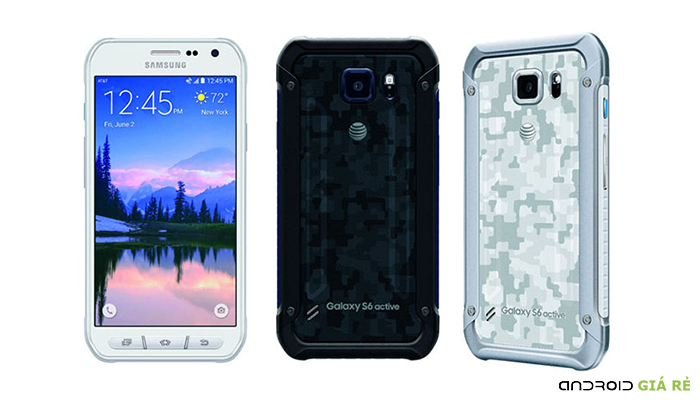 Đánh giá pin Samsung Galaxy S6 Active