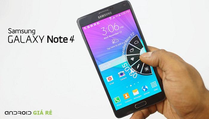 Khắc phục màn hình Samsung Galaxy Note 4 bị giật lag