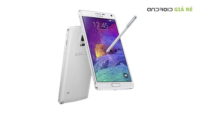 Samsung Galaxy Note 4 hở viền màn hình vì sao?