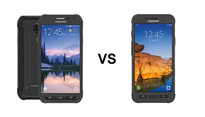 So sánh S6 Active va S7 Active nhanh