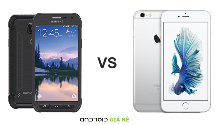 iphone 6 vs samsung s6 active