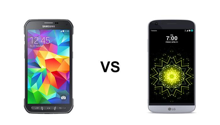 So sánh Samsung Galaxy S6 Active vs LG G5 chi tiết