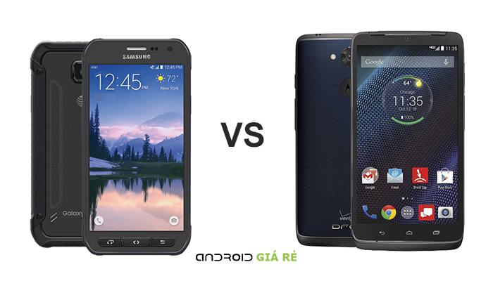 So sánh Samsung Galaxy S6 Active vs Motorola Droid Turbo