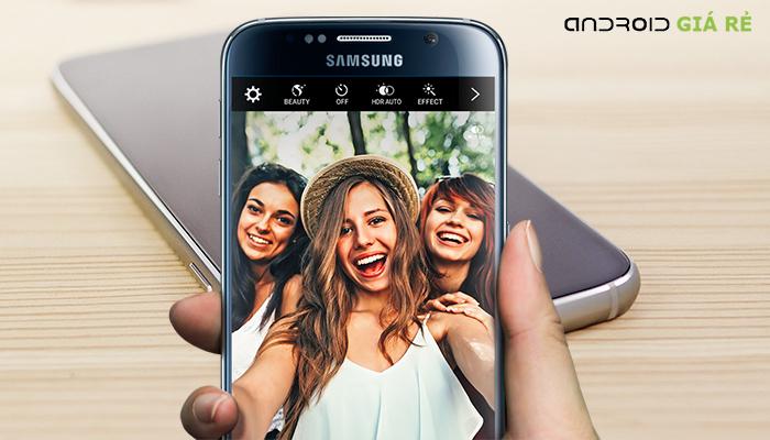 Camera trước Samsung Galaxy S6 chính hãng