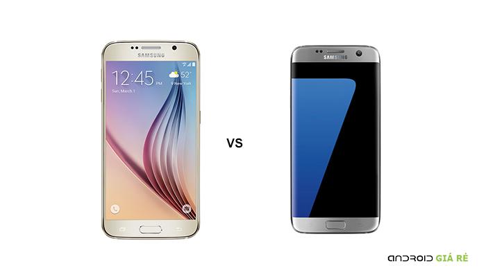 Những so sánh Samsung S6 và S7