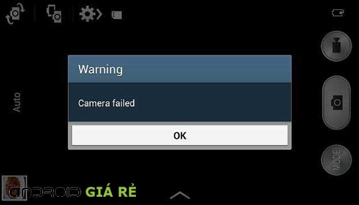 Sửa máy ảnh Samsung Galaxy S4 lỗi