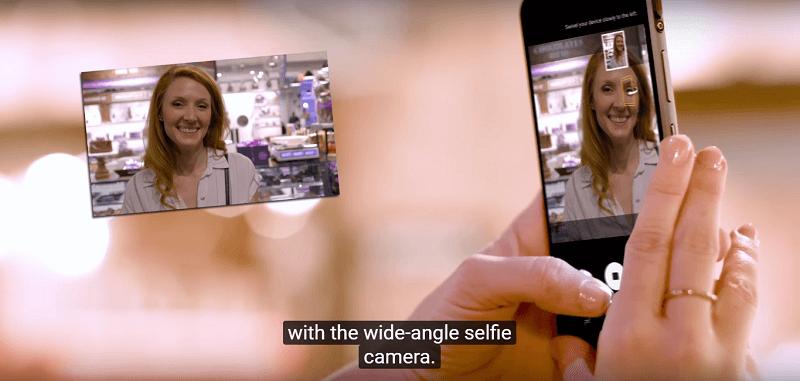 Samsung Galaxy S8 Active hỗ trợ chụp ảnh selfie chất lượng cao