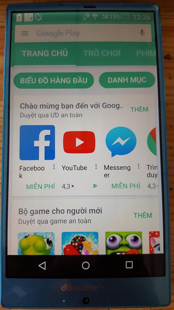 Cài Tiếng Việt cho Sharp F01G