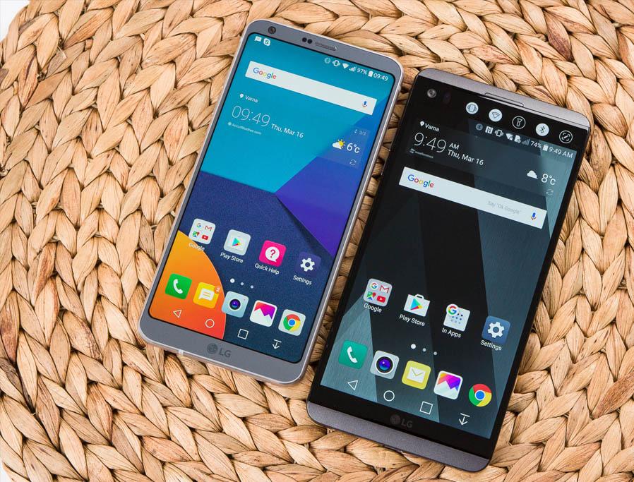 LG 6 va LG V20 1