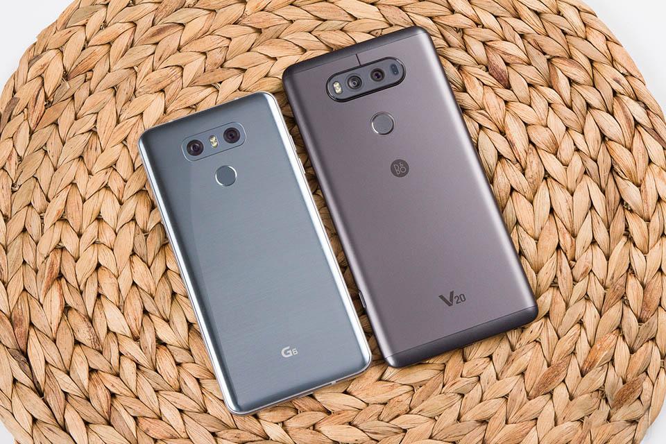 LG G6 và LG V20