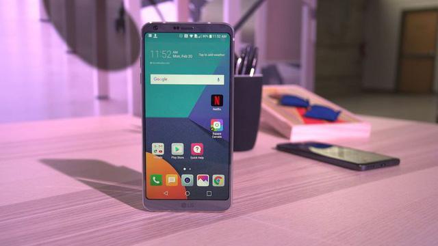LG G6 chinh hang xach tay
