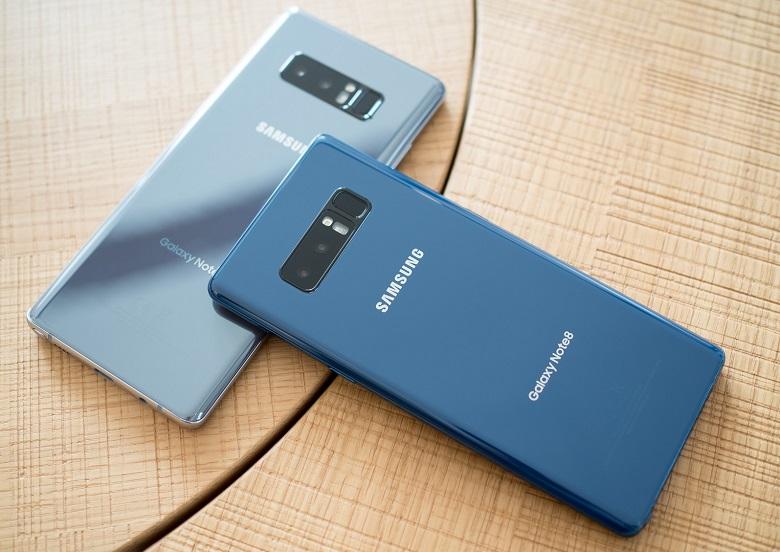 Samsung Galaxy Note 8 cũ giá rẻ với thiết kế cứng cáp